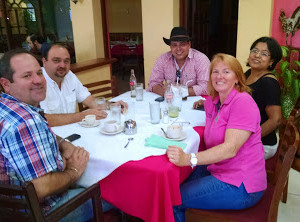 Renee With Nicaragua Clients